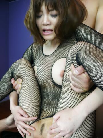 Yumemi Tachibana - Yumemi 立花美给亚洲口交和由两个奶油 - 图片 11