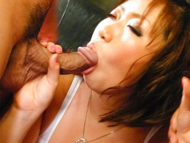 Neiro Suzuka - Big titted MILF Neiro Suzuka gets asian cumshots after sex - Picture 8