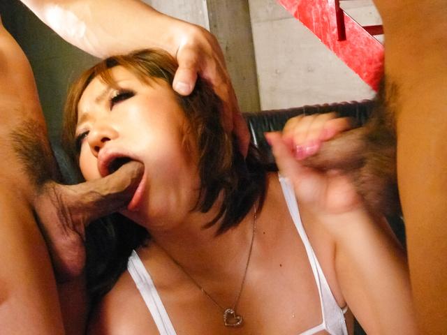 Neiro Suzuka - Big titted MILF Neiro Suzuka gets asian cumshots after sex - Picture 9