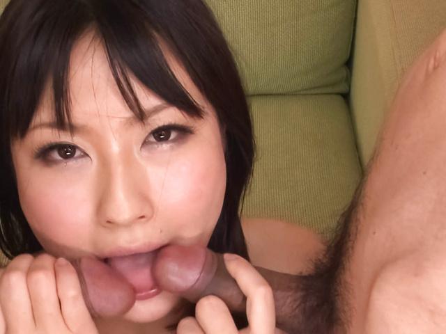 Megumi Haruka - Megumi Haruka licks two tools same time - Picture 7