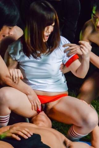 Kaho - Ravishing Asian schoolgirl blowjob on cam - Picture 7