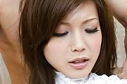 Mari Sasaki - Steamy hot threesome fun with Mari Sasaki fingered and fucked - Picture 5
