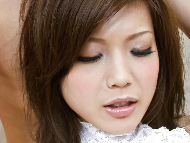 Mari Sasaki - 玛丽佐佐木蒸汽热三人玩手指和性交 - 图片 5