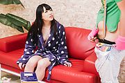 Yui Ayase - Aya Kisaki amateur Asian babe masturbates on cam - Picture 1