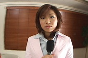 Mitsu Anno - Mitsu Anno is fucked by two and receives multiple facial cumshots - Picture 1