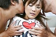 Nagisa Aiba - 美乳美少女愛葉渚に二穴同時挿入 - Picture 1