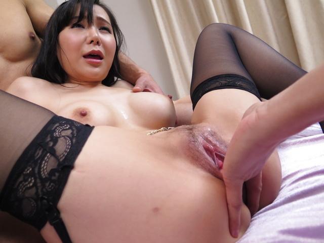 Miu Watanabe - Harsh Asian blow job along insolent Miu Watanabe - Picture 8