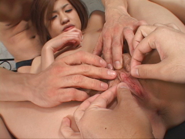 Ai Aito - Ai Aito gets her pussy pounded by two dicks - Picture 11