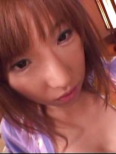 Serina Hayakawa - Serina Hayakawa rides cock dressed in kimono - Screenshot 3
