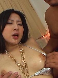 Megumi Haruka - Fカップ爆乳遥めぐみに連続中出し! - Screenshot 3