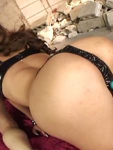 Ramu Nagatsuki - Ramu Nagatsuki sucking a dick while getting fucked from behind - Screenshot 2