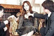 Mei Haruka - This hot threesome with Mei Haruka will get you jerking off - Picture 1