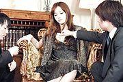 Mei Haruka - 与梅遥这热门三人会将你手淫 - 图片 1