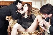 Mei Haruka - This hot threesome with Mei Haruka will get you jerking off - Picture 2