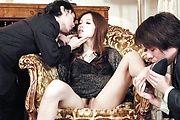 Mei Haruka - 与梅遥这热门三人会将你手淫 - 图片 2