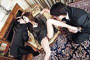 Mei Haruka - 与梅遥这热门三人会将你手淫 - 图片 3