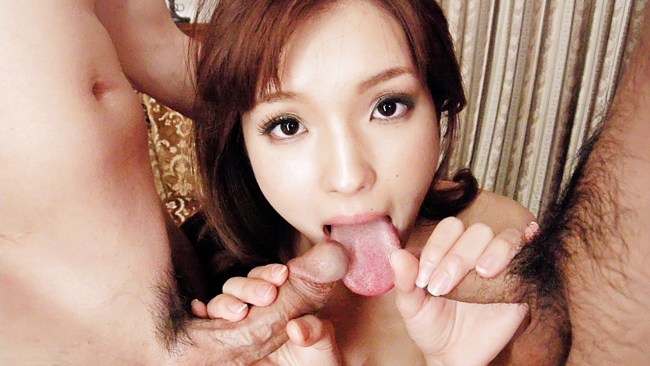 Phim Sex This hot threesome with Mei Haruka will get you jerking off
