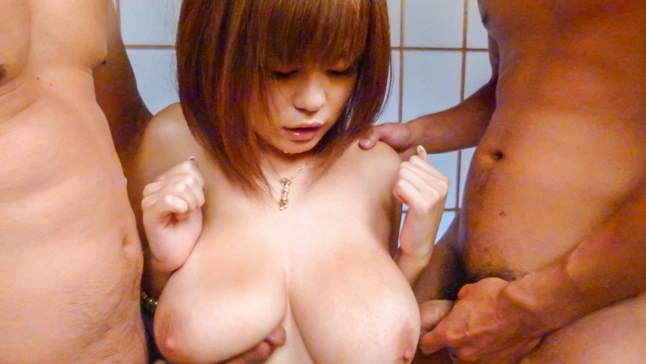 Phim Sex Asian creampie gangbang with sexy Airu Oshima