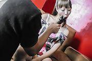 Momoka Rin - Sexy teen Momoka Rin gives an asian blowjob after masturbating - Picture 10