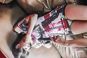 Momoka Rin - Sexy teen Momoka Rin gives an asian blowjob after masturbating - Picture 11