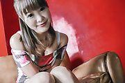 Momoka Rin - Sexy teen Momoka Rin gives an asian blowjob after masturbating - Picture 4