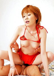 Kaoru Amamiya Asian is fooling around with two men till gets cum