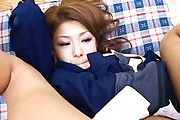 Manami Ebihara - 女子校生をアナル調教&ぶっかけ - Picture 7
