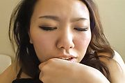 Miho - Sweet Miho enjoying Japanese blow job with big cock - Picture 3