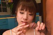 Hinata Tachibana - 阳平花美少年亚洲给两个男人口交 - 图片 1