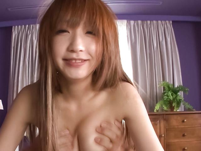 杏樹紗奈 - 69で綺麗なおマンコを見せ付け!杏樹紗奈 - Picture 12