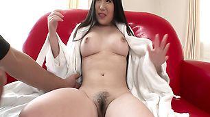 Busty Jun Mamiya loves getting fucked by asian dildos