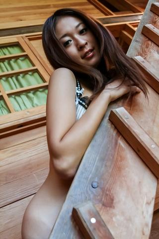 Risa Misaki - Risa Misaki provides steamy Asian blowjob in threesome - Picture 2