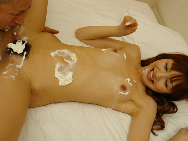 Kotone Aisaki - Whipped cream play with Aisaki Kotone leads to hard fuck - Picture 6