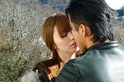 Megu Kamijo - Sexy teen asian fingering and hard dick riding - Picture 4