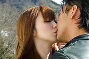 Megu Kamijo - Sexy teen asian fingering and hard dick riding - Picture 5