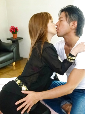 Megu Kamijo - Sexy teen asian fingering and hard dick riding - Picture 11
