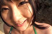 Megumi Haruka - Megumi Haruka bites balls and sucks dick - Picture 5