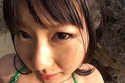 Megumi Haruka - Megumi Haruka bites balls and sucks dick - Picture 6