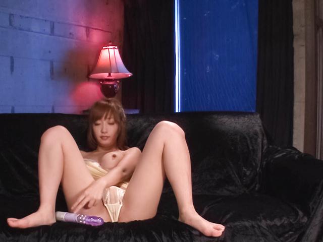Sana Anzyu - 热亚洲 bukkake 性虽然 Sana Anzyu 手淫 - 图片 2