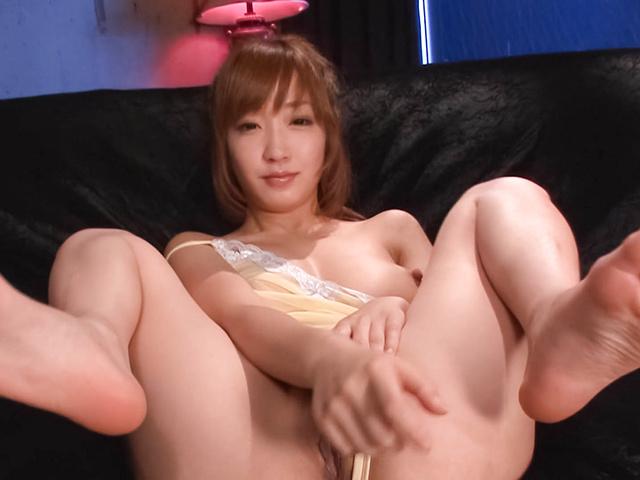 Sana Anzyu - 热亚洲 bukkake 性虽然 Sana Anzyu 手淫 - 图片 5