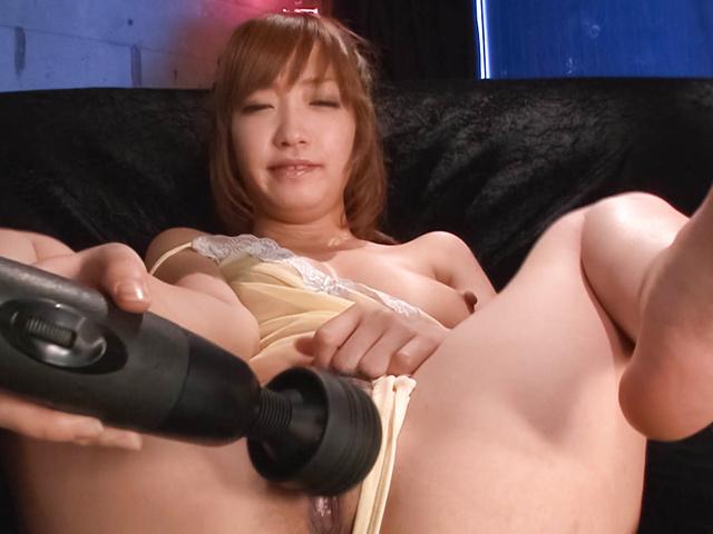 Sana Anzyu - 热亚洲 bukkake 性虽然 Sana Anzyu 手淫 - 图片 9
