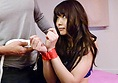 Horny teen Megumi Shino gives an asian blowjob and takes a fucking
