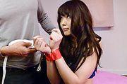 Megumi Shino - 角质青少年惠四野给亚洲口交和需要他妈的 - 图片 9