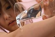 Miku Airi - Sexy oily teen Miku Airi japan girls blow job - Picture 6